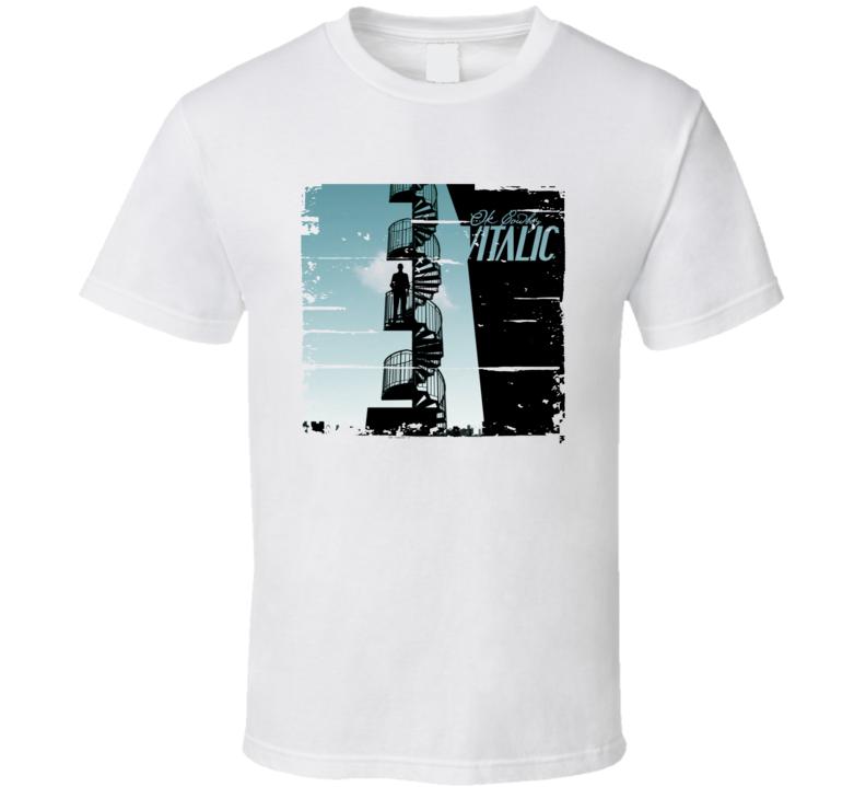 Vitalic Ok Cowboy EDM Album Poster Worn Look Music T Shirt