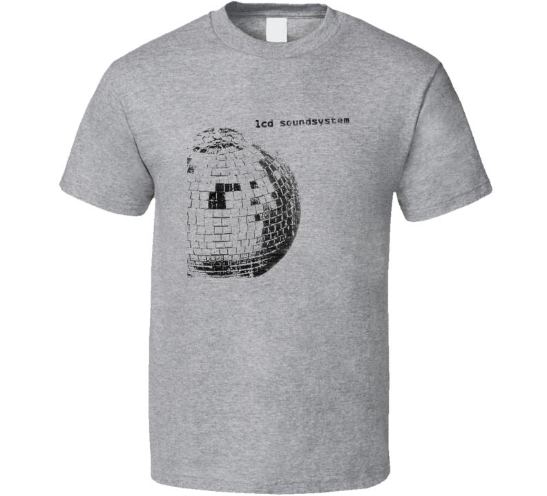 Lcd Soundsystem Album Poster Worn Look Cool Music T Shirt