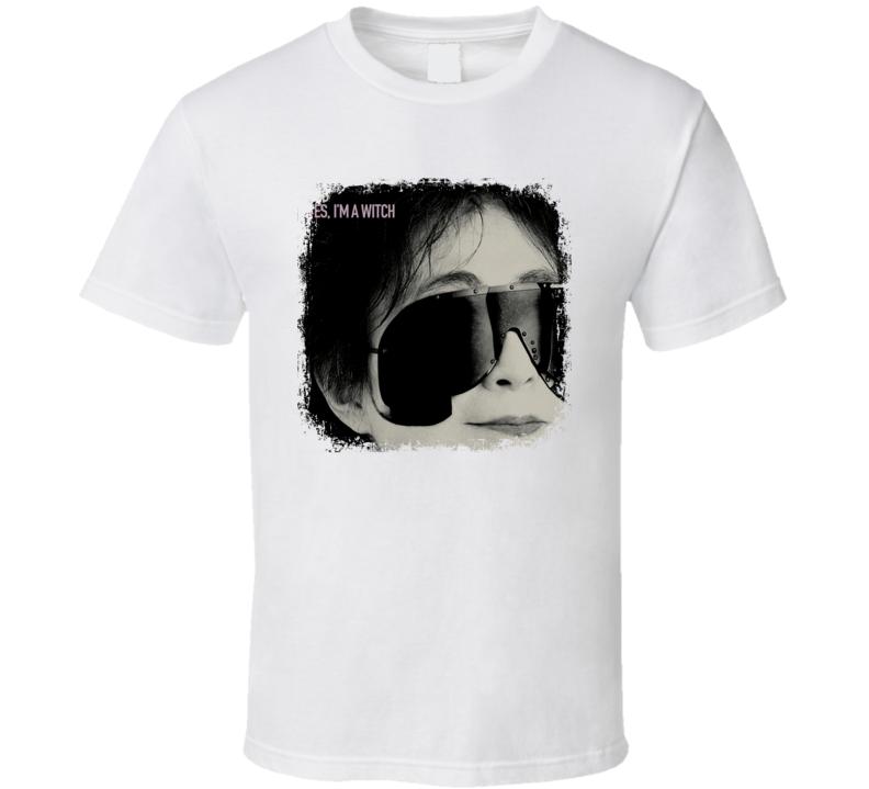 Yoko Ono Yes  I'M A Witch T Shirt