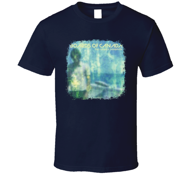 Boards Of Canada Campfire Headphase Poster Worn Look Music T Shirt