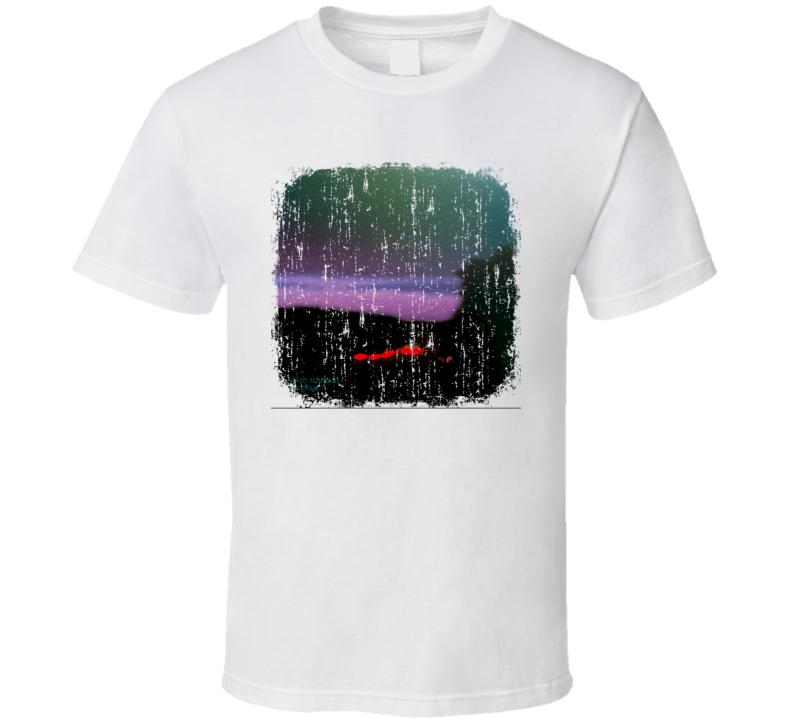Ulrich Schnauss Goodbye EDM Album Poster Worn Look Music T Shirt