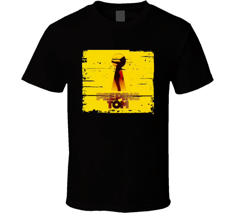 Peeping Tom EDM Album Poster Worn Look Music T Shirt
