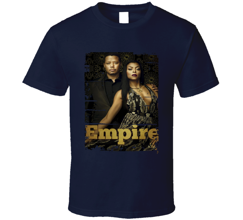Empire TV Show Poster Worn Look Cool Hip Gift T Shirt