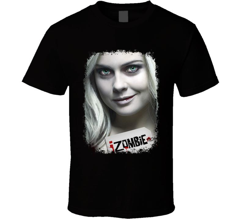 IZombie TV Show Poster Worn Look Cool Hip Gift T Shirt