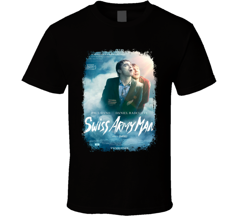 Swiss Army Man Movie Poster Worn Look Cool Drama Film Gift T Shirt