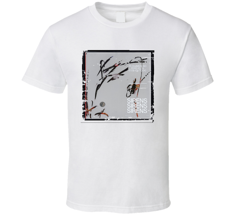 Nicolas Jaar Sirens Poster Worn Look Cool Music Gift T Shirt