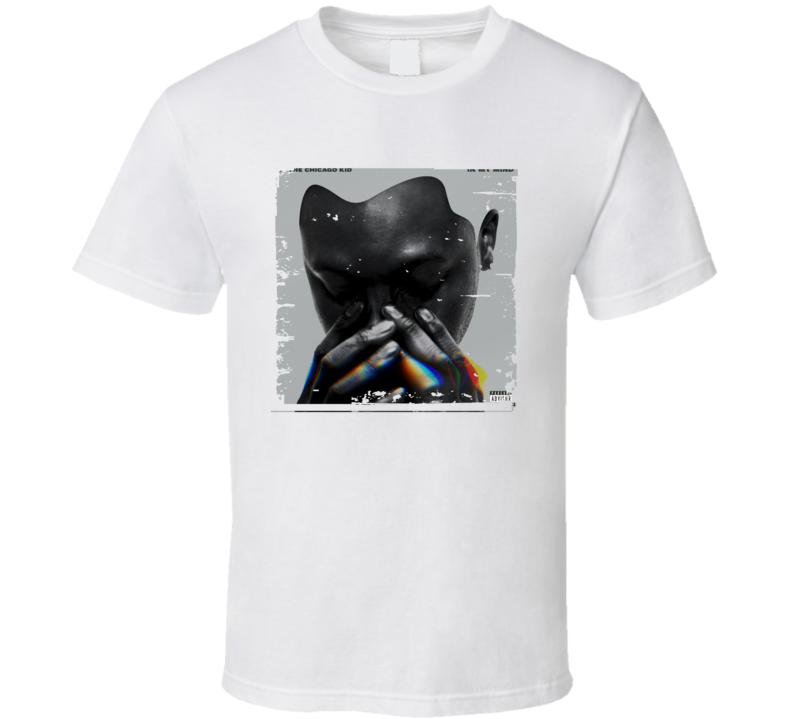 BJ The Chicago Kid In My Mind Poster Worn Look Cool Music Gift T Shirt