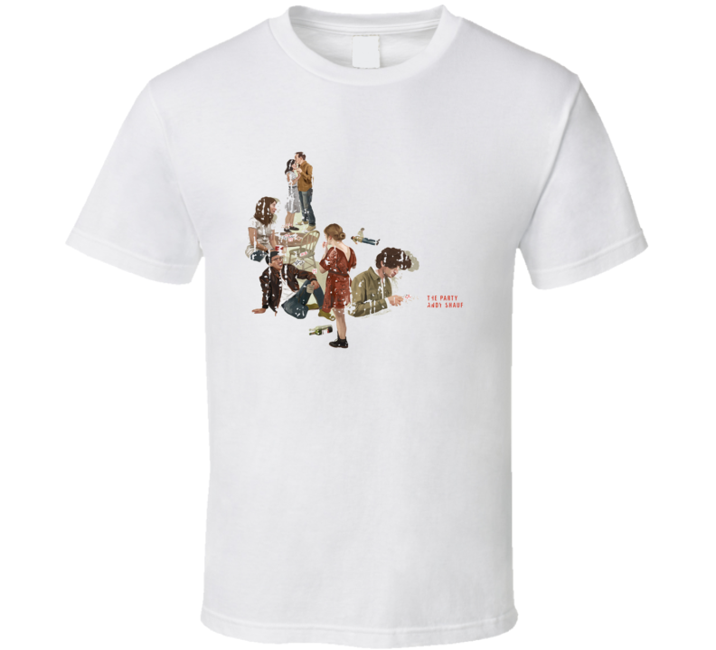 Andy Shauf The Party Poster Worn Look Cool Music Gift T Shirt