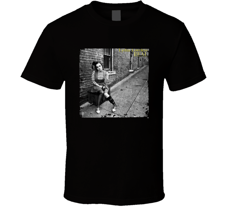 Lydia Loveless Real Poster Worn Look Cool Music Gift T Shirt