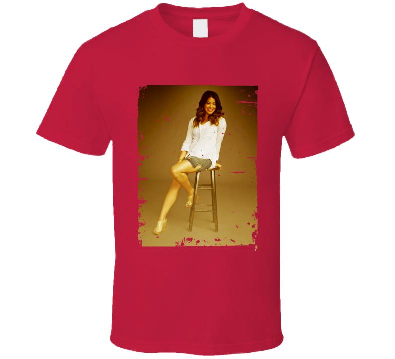 Jane Villanueva Jane The Virgin Poster Worn Look TV Show T Shirt
