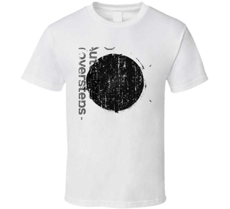 Autechre Oversteps EDM Album Poster Worn Look Music T Shirt