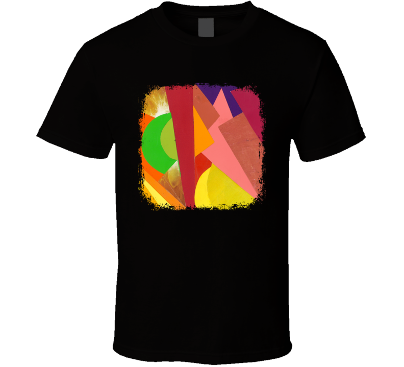 Neon Indian Psychic Chasms EDM Album Poster Worn Look Music T Shirt