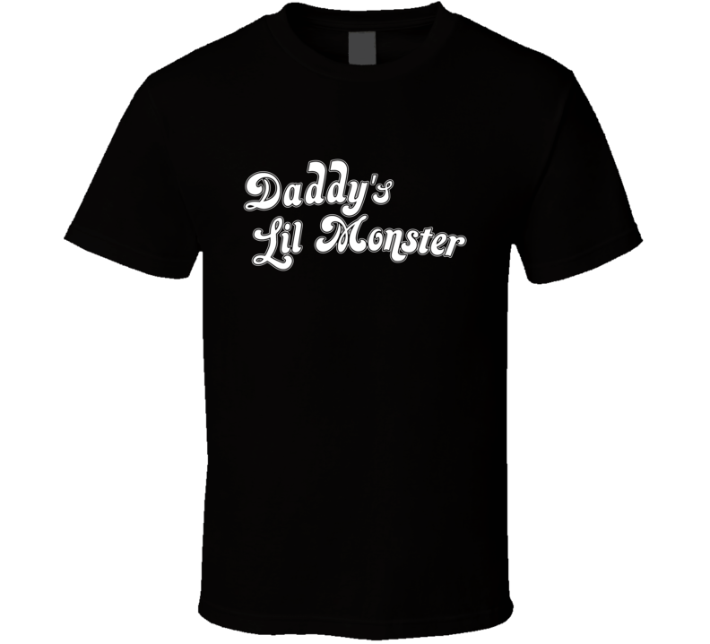 Daddy's Lil Monster Harley Quinn Comic Suicide Squad Movie T Shirt