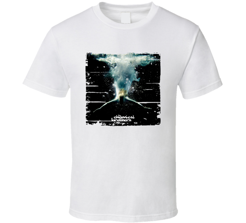 The Chemical Brothers Further EDM Album Poster Worn Look Music T Shirt