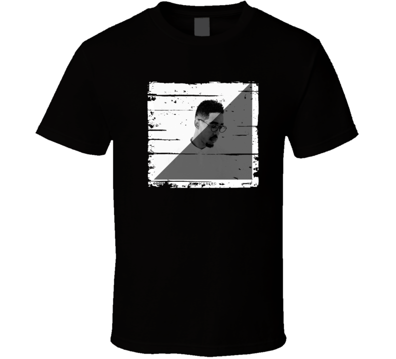 Oddisee The Iceberg Cool Album Worn Look Music Fan Gift T Shirt