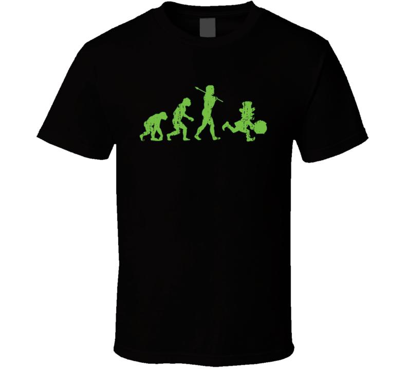 St Patricks Day Evolution of Leprechaun Irish Funny Worn Look T Shirt