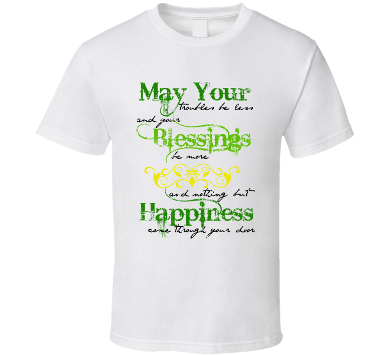 St Patricks Day Funny Worn Look Cool Irish Beer Lover T Shirt