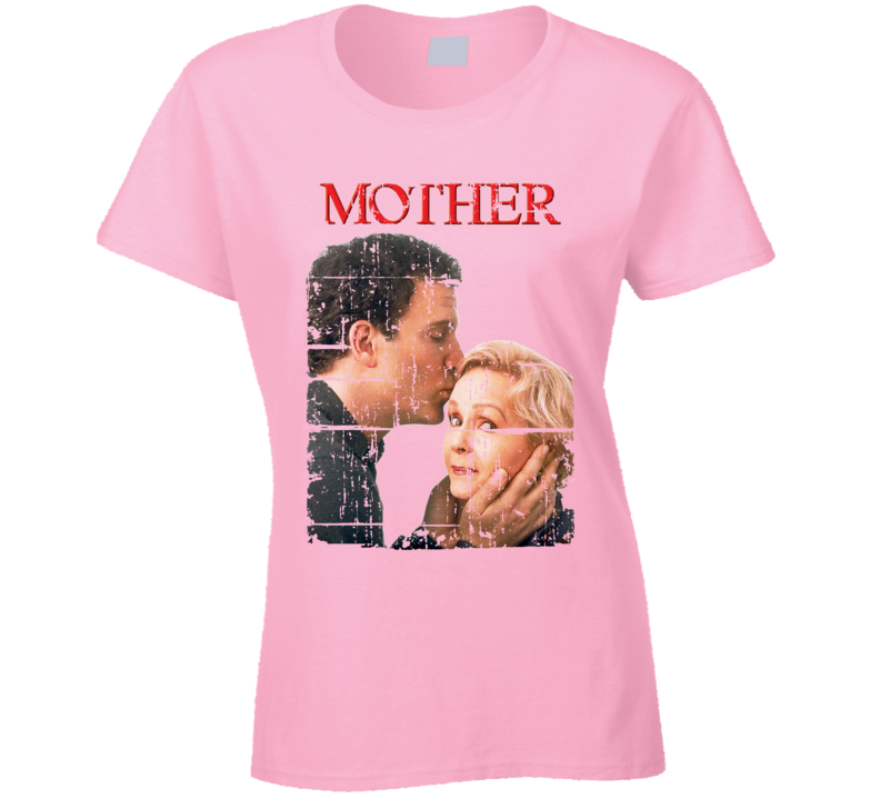 Mothers Movie Poster Cute Worn Look Mommy Gift Cool Ladies T Shirt