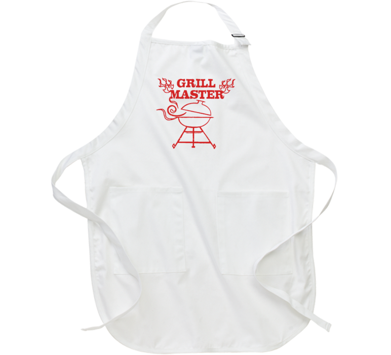 Grill Master Fathers Day Gift Funny Food Lover Cool Cheft Apron