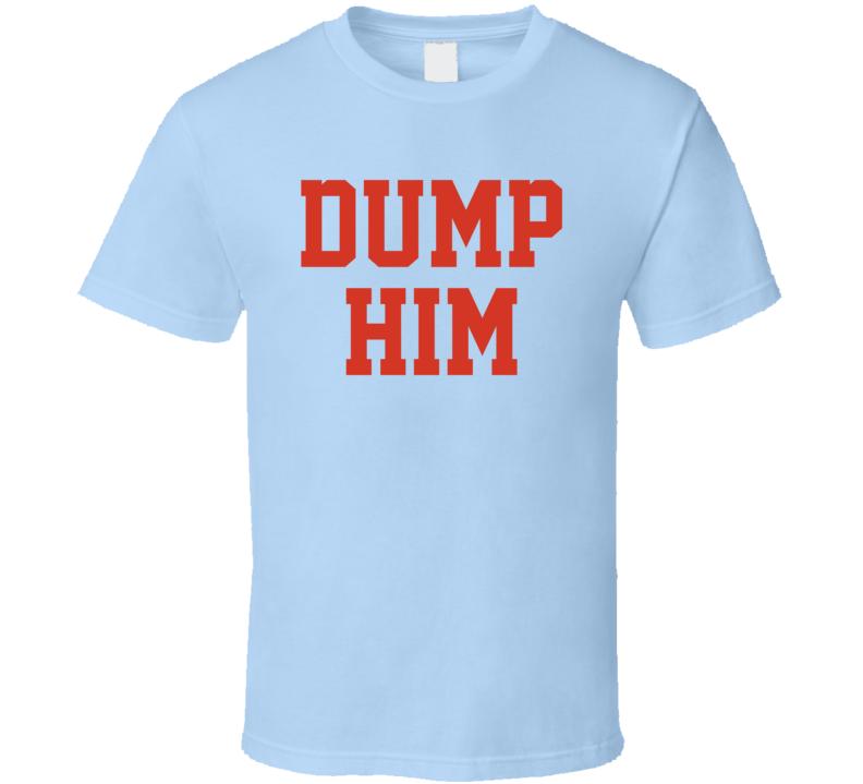 Dump Him as Worn by Celebrity Actress Britney Spears Cool T Shirt
