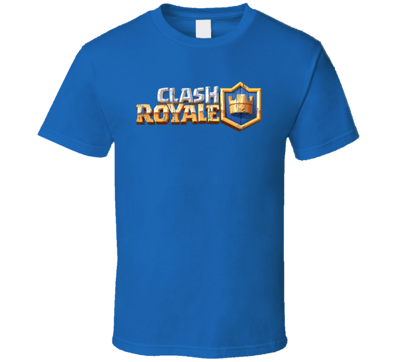 Clash Royale Cool Android App Mobile Game Fan Worn Look T Shirt