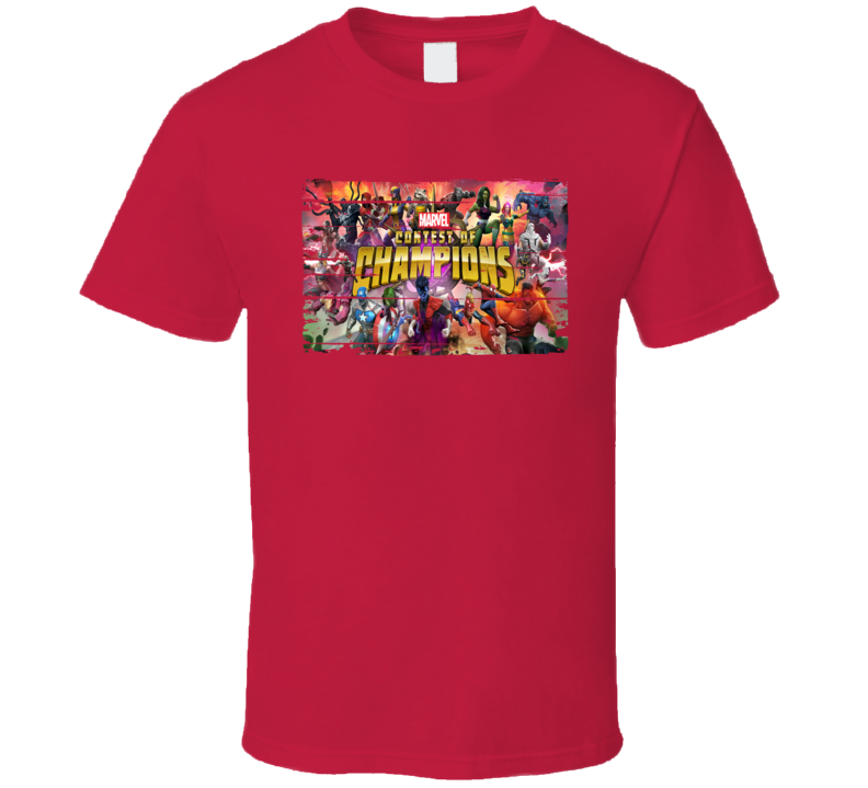 Marvel Contest Of Champions Android App Mobile Game Worn Look T Shirt