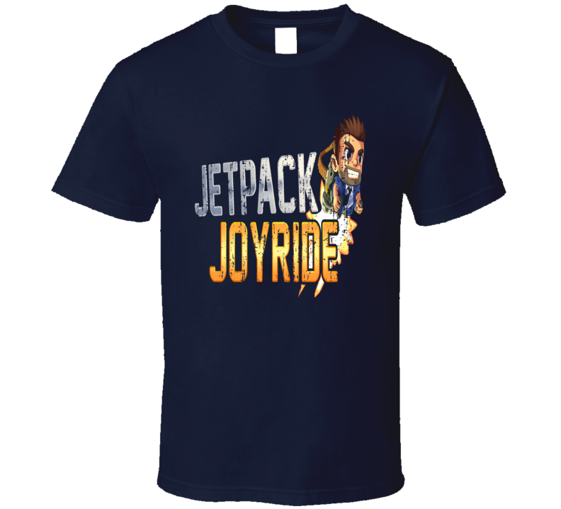 Jetpack Joyride Cool Android App Mobile Game Fan Worn Look T Shirt