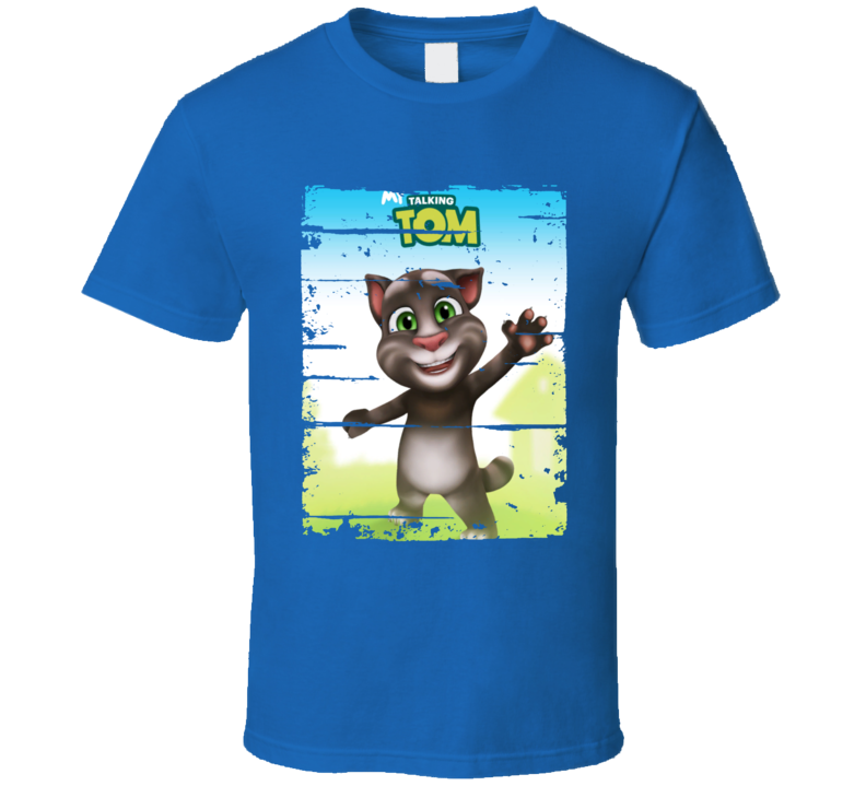 My Talking Tom Cool Android App Mobile Game Fan Worn Look T Shirt