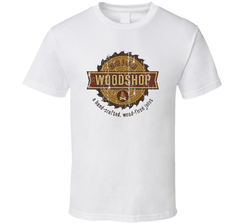 Union Woodshop Cookhouse Grill Smoked Foodie Worn Look T Shirt