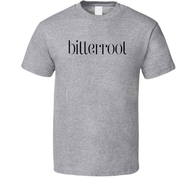 Bitterroot BBQ Cookhouse Grill Smoked Foodie Worn Look T Shirt