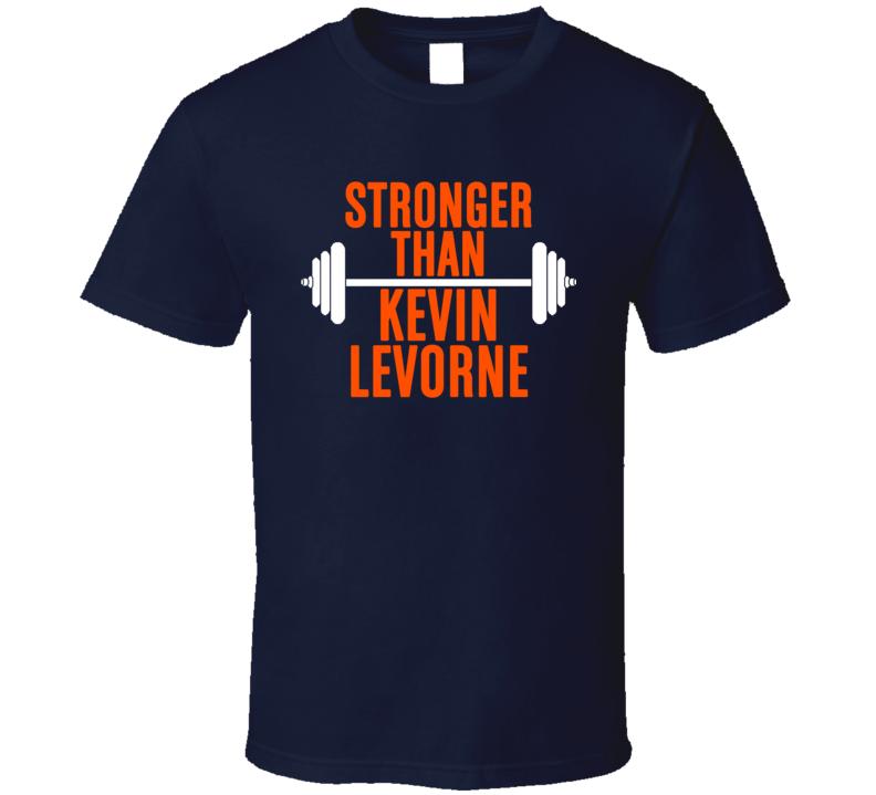 Stronger Than Kevin Levorne Celebrity Body Builder Cool Wokout T Shirt