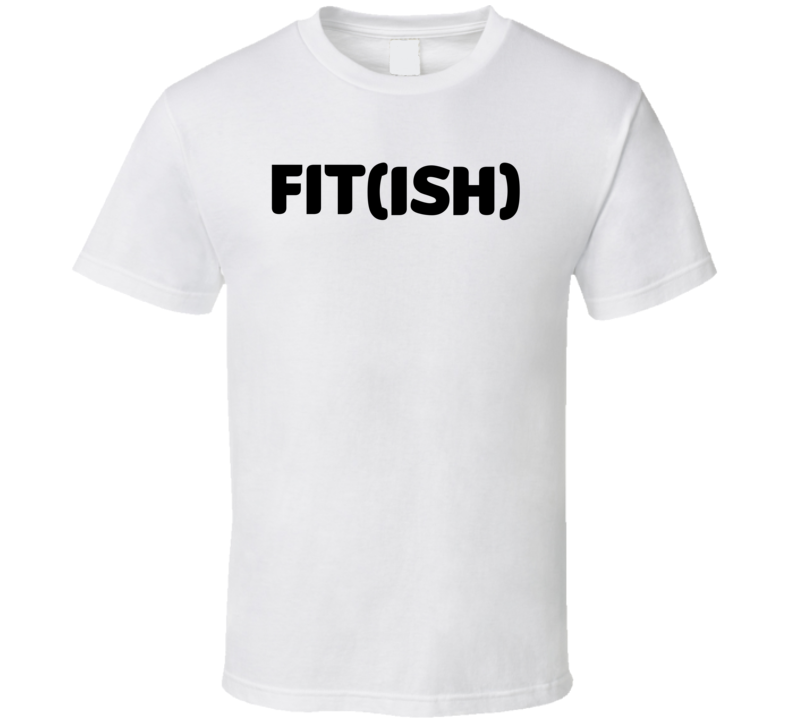 Fitish Funny Exercise Workout Cool Gym Ladies T Shirt