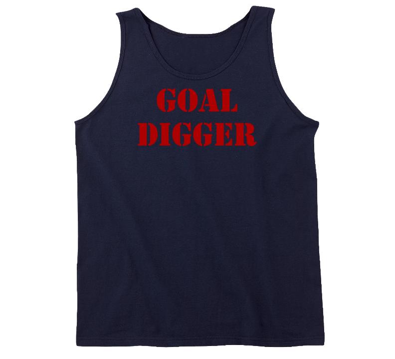 Goal Digger Funny Exercise Workout Gym Tanktop