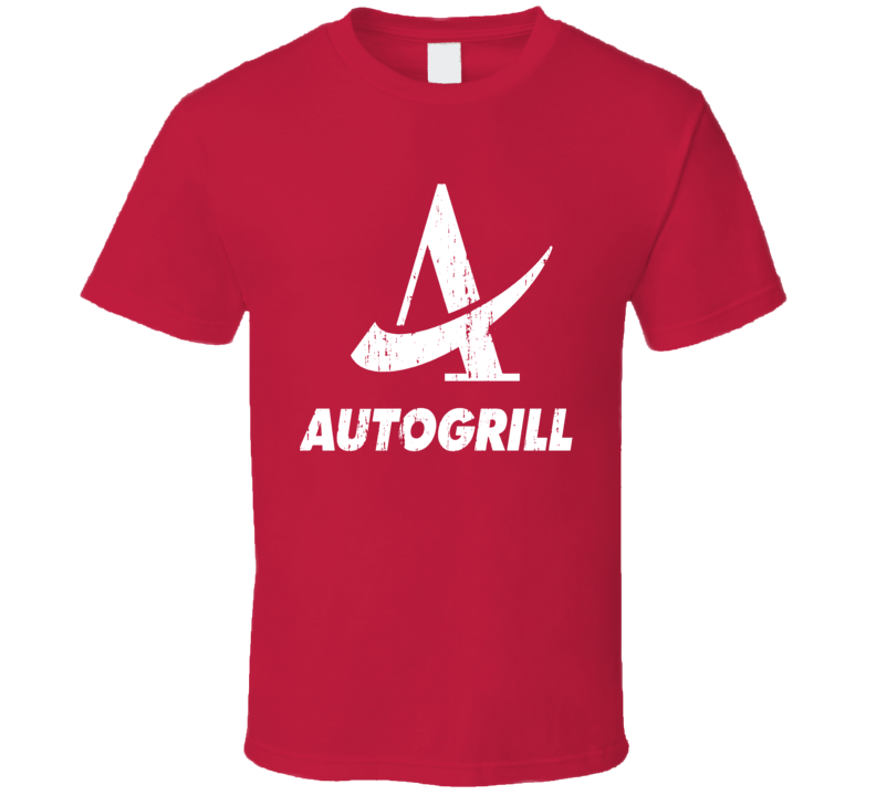 Autogrill Italian Cuisine Spicy Food Lover Worn Look Cool T Shirt