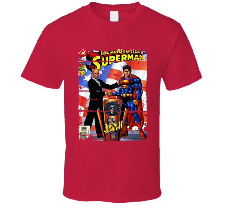 New Adventures Of Superman Cartoon Fan Worn Look Tv Series T Shirt