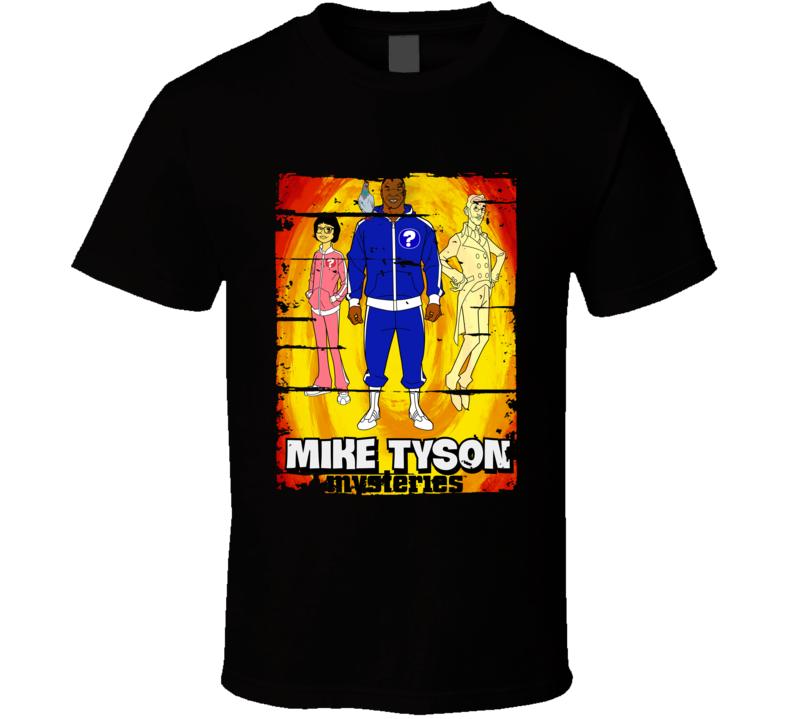 Mike Tyson Mysteries Cartoon Worn Look Animated Tv Series T Shirt