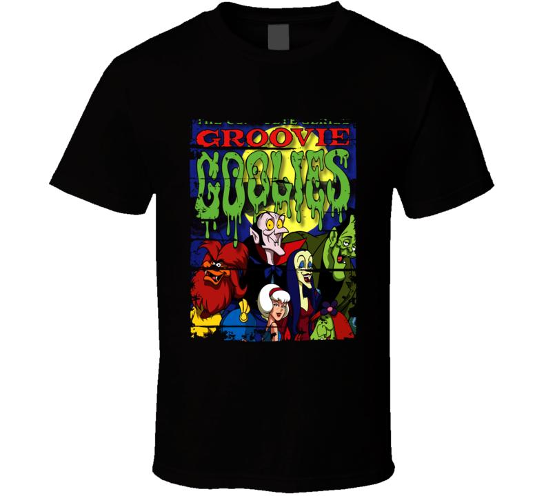 Sabrina And The Groovie Goolies Cartoon Worn Look Tv Series T Shirt
