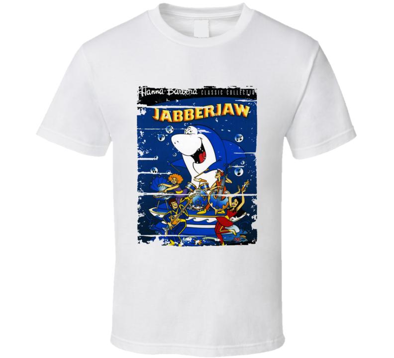 Jabberjaw Cartoon Worn Look Animated Tv Series T Shirt