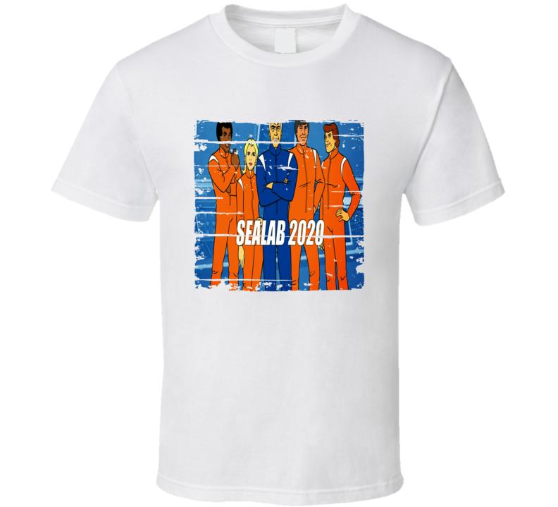 Sealab 2020 Cartoon Worn Look Animated Tv Series T Shirt