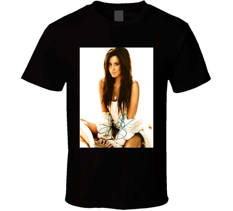 Ashley Tisdale Signature Trending Celebrity Autographed T Shirt