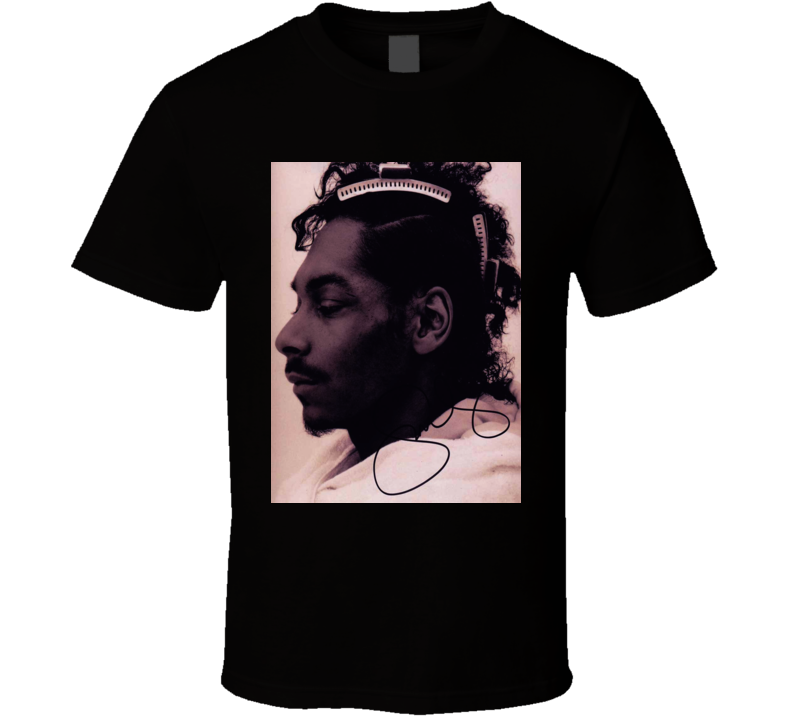 Snoop Dogg Signature Trending Celebrity Autographed T Shirt