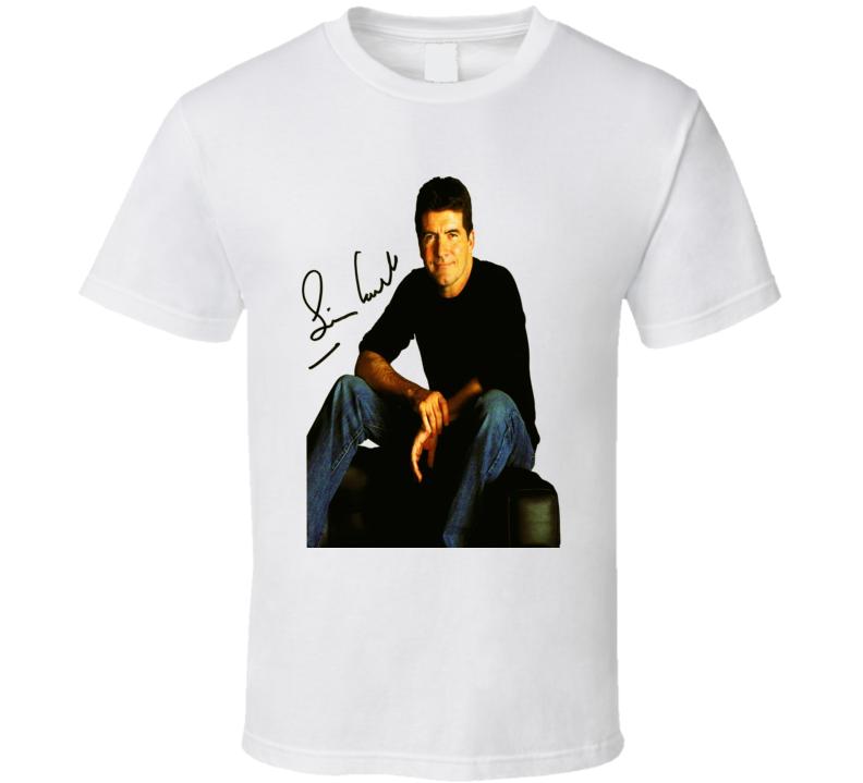 Simon Cowell Signature Trending Celebrity Autographed T Shirt