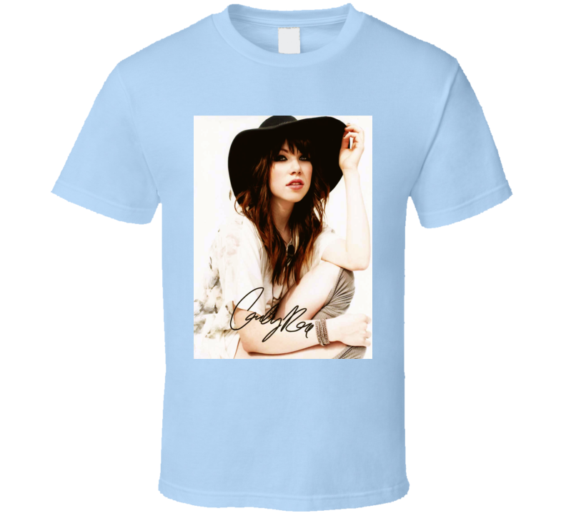 Carly Rae Jepsen Signature Trending Celebrity Autographed T Shirt