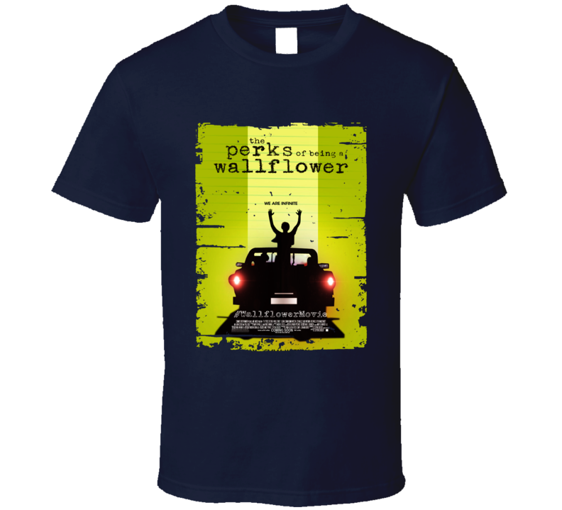 Perks Of Being A Wallflower Book Worn Look Awesome Literary T Shirt