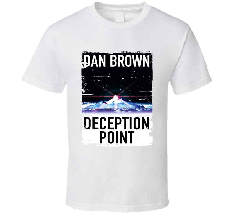 Deception Point Book Lover Worn Look Awesome Literary T Shirt
