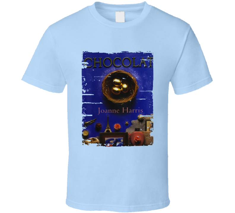Chocolat Book Lover Worn Look Awesome Literary T Shirt