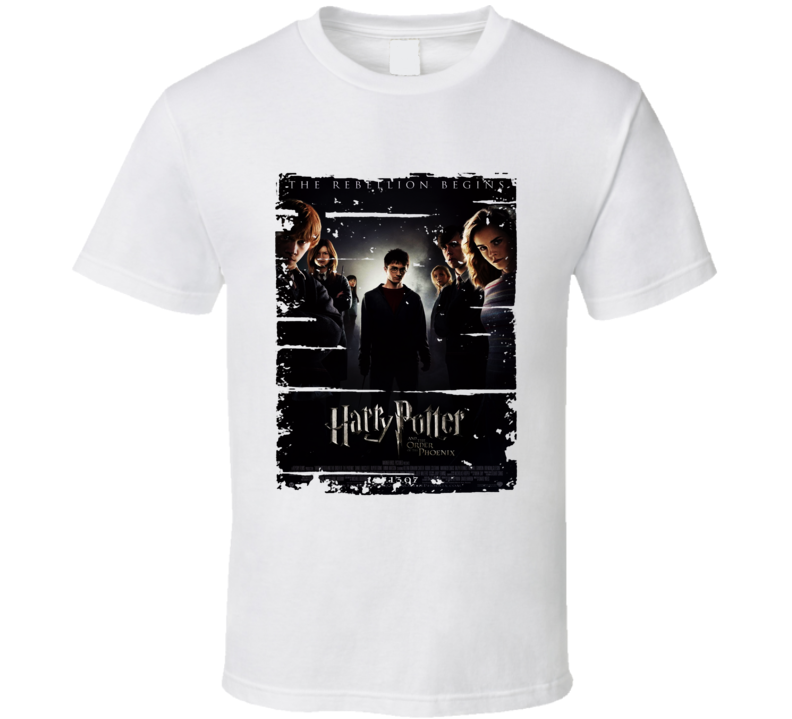 Harry Potter Order Of Phoenix Book Worn Look Awesome Literary T Shirt