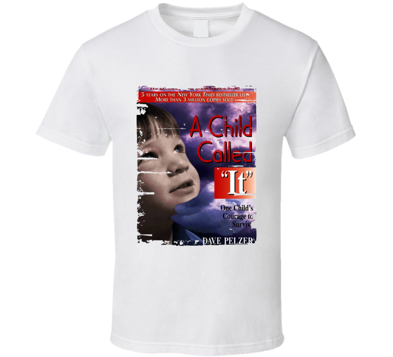 A Child Called It Book Lover Worn Look Awesome Literary T Shirt