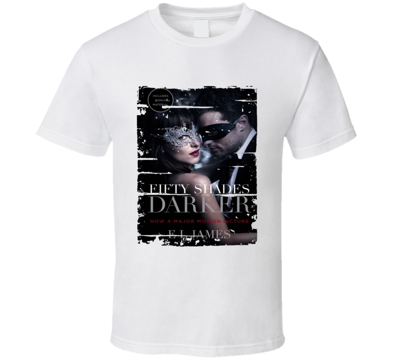 Fifty Shades Darker Book Lover Worn Look Awesome Literary T Shirt