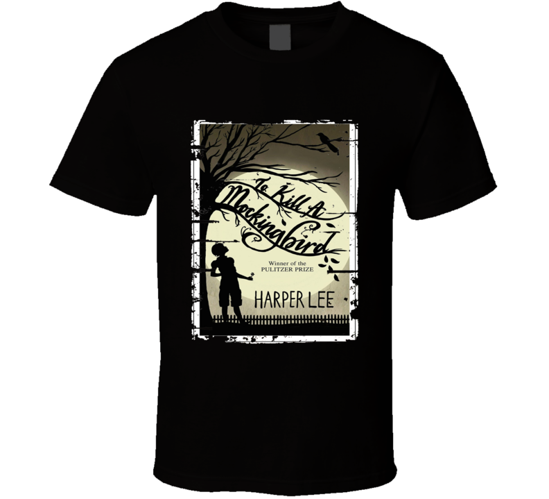To Kill A Mockingbird Book Lover Worn Look Awesome Literary T Shirt
